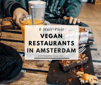 6 Must Visit Vegan Restaurants in Amsterdam