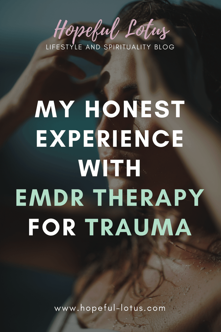 EMDR therapy for trauma | Eye Movement Desensitization and Reprocessing therapy is a unique PTSD treatment, which helps to improve PTSD symptoms including the anxiety associated with post traumatic stress disorder. Read about my honest experience receiving this trauma therapy for CPTSD (complex PTSD) and learn how it can help you in your mental health recovery.
