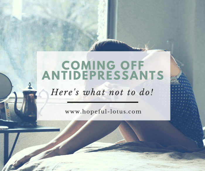Coming off antidepressants isn't an easy task, whether you're fearing relapse or the awful symptoms of SSRI discontinuation syndrome. But it doesn't have to be the worst thing in the world and you CAN get through it. Here's my experience tapering off SSRIs with tips on how to get through the antidepressant withdrawal stage and make it out the other side!