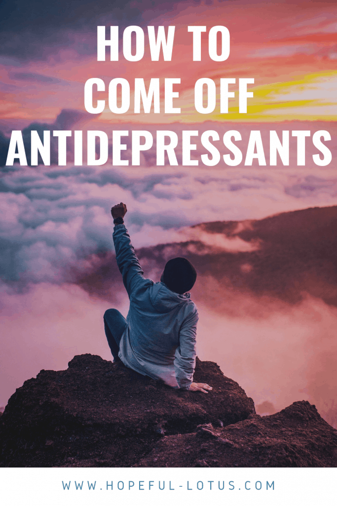 Tapering off antidepressants is essential in order to minimise antidepressant withdrawal symptoms. In this post I share what I learned coming off antidepressants including my own sertraline withdrawal schedule. I also share my top 12 tips for antidepressant withdrawal relief!