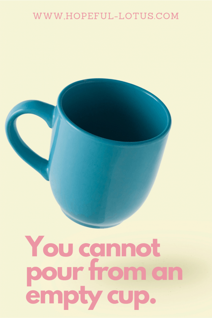 You cannot pour from an empty cup. This is why you should always be your no.1 priority! Release the idea that self care is selfish and start prioritizing yourself today!