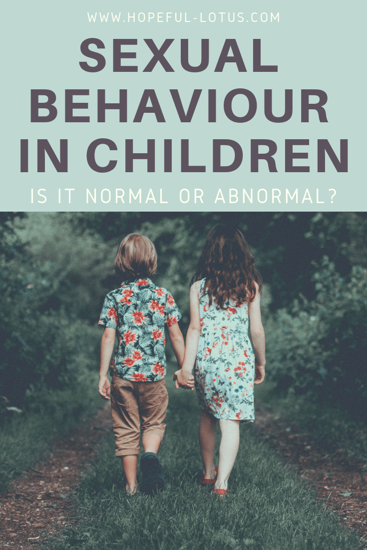 We don't like to talk about sexual behaviour in children because it is an uncomfortable topic. But unfortunately ignoring it can lead to us missing vital signs of inappropriate sexualised behaviour and sexual abuse. This post talks about the difference between normal and abnormal child sexual development with an age appropriate sexual behaviour chart so you can identify when things aren't quite right with your child.