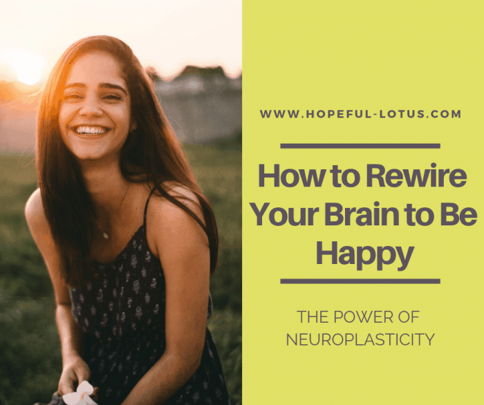What is neuroplasticity? Find out about this powerful tool for mental illness recovery. Learn how to literally rewire your brain to be happy with self-directed neuroplasticity exercises for mental health!