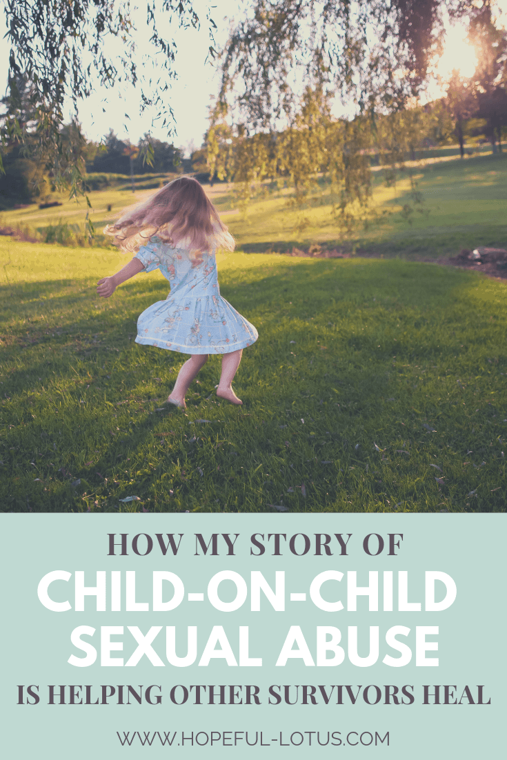Child-on-child sexual abuse is a type of childhood trauma that just isn't spoken about. This means that survivors like myself are left feeling alone and in the dark and developing mental illnesses such as complex PTSD. Here I am sharing my own story of child-on-child sexual abuse to raise awareness and help other victims who are feeling alone #cptsd #childonchildsexualabuse #childhoodtrauma.
