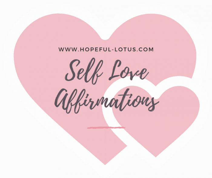These positive affirmations for self love are the perfect way to change your mindset from negative to positive! Use these daily mantras to build your self esteem and achieve the things you previously thought impossible!