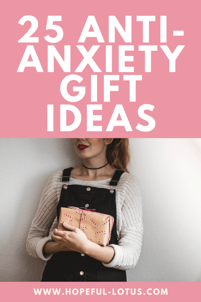 Buying thoughtful gifts trump expensive gifts in my opinion, and gifting a loved one something to relieve their anxiety may just make their day! These 25 gifts for someone with anxiety are unique and thoughtful - you can either buy one of these anti anxiety gifts or combine multiple to make an anxiety gift basket! Either way, your loved one will love these gift ideas, no matter the occasion!