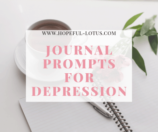 34 Journal Prompts for Depression Relief