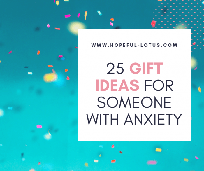 This list of 25 gifts for someone with anxiety is complete with objects to reduce anxiety, thoughtful self-care gifts and even gifts which could be life changing! Whoever the receiver is, there are plenty of anti anxiety gift ideas to put a smile on their face!