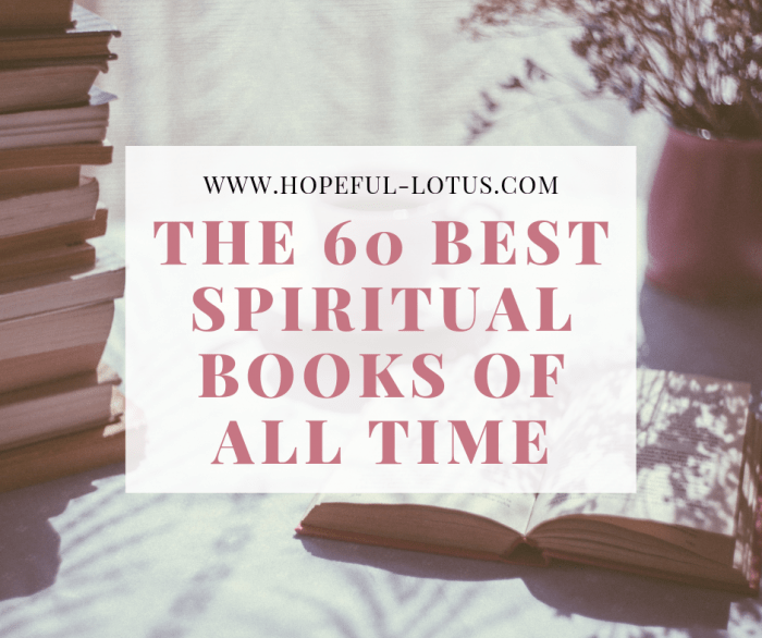 The 60 best spiritual books of all time