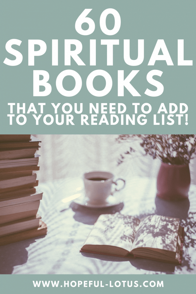 Reading should be a huge part of your self care routine, especially when the books you're reading help you on your journey of spiritual growth! Here is a list of my favourite inspirational and motivational books on spirituality! #selfcare #spiritualgrowth #books #reading