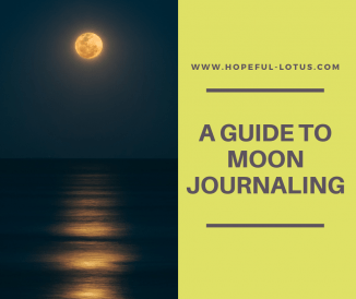 A Guide to Moon Journaling for Sacred Self Care