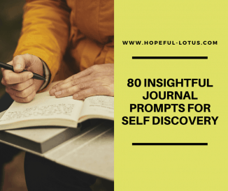 80 Insightful Journal Prompts for Self Discovery and Awareness
